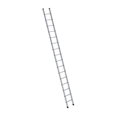 Anlegeleiter mit Sprossen - Profiausführung, Leiternbreite 420 mm