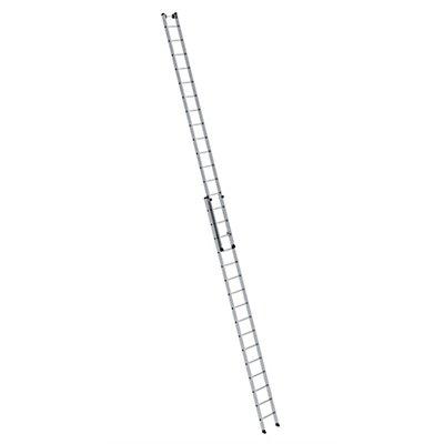 Anlegeleiter höhenverstellbar - Schiebeleiter, 2-teilig, 2 x 6 Sprossen