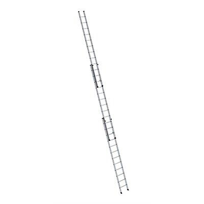 Anlegeleiter höhenverstellbar - Schiebeleiter, 3-teilig
