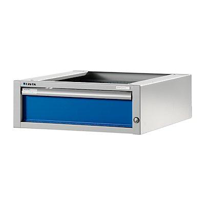 Lista Werkbank-Baukastensystem, Unterbauschrank - Höhe 204 mm, 1 Schublade