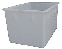 Stapelbehälter aus Polyethylen, konische Bauform - Inhalt 220 l - natur, ab 10 Stk