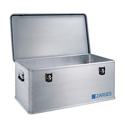 ZARGES Alu-Kombi-Box - Maxi, Inhalt 135 l - Außen-LxBxH 900 x 500 x 370 mm, Gewicht 6,9 kg