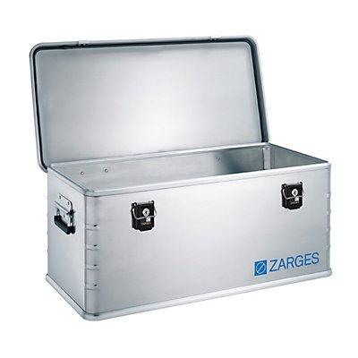 ZARGES Alu-Kombi-Box - Midi, Inhalt 81 l - Außen-LxBxH 800 x 400 x 330 mm, Gewicht 5,5 kg