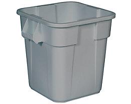 Rubbermaid Universalcontainer, quadratisch - Inhalt ca. 105 l - grau