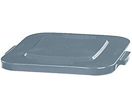Deckel, quadratisch - Schnappverschluss, für 151-Behälterinhalt - grau