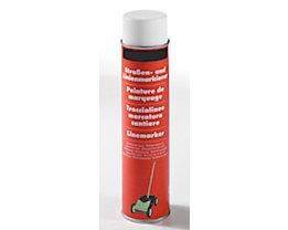 Markierfarbe, Inhalt 600 ml - VE 12 Dosen - weiß