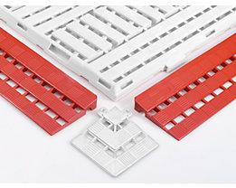 Randleiste - LxB 125 x 600 mm, VE 10 Stück - rot