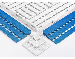 Randleiste - LxB 125 x 600 mm, VE 10 Stück - blau