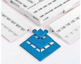 Eckelement - LxB 112 x 112 mm, VE 4 Stück - blau