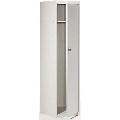 QUIPO Garderobenschrank - HxBxT 1800 x 450 x 500 mm, 1 Hutboden, 1 Kleiderstange