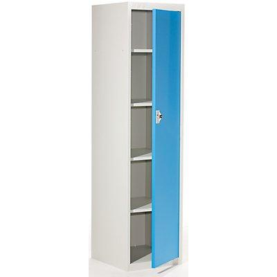 QUIPO Garderobenschrank - HxBxT 1800 x 450 x 500 mm, 4 Fachböden