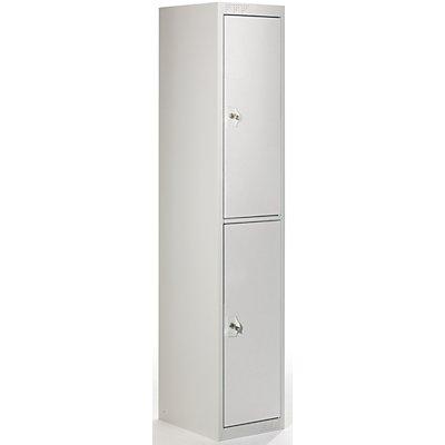 QUIPO Garderobenschrank - HxBxT 1800 x 300 x 500 mm, 1 Kleiderstange