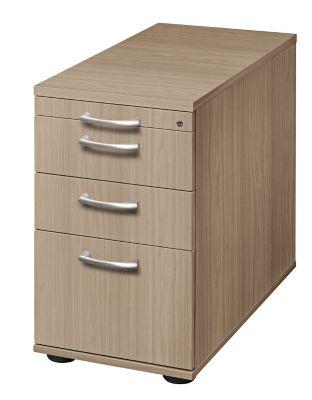 office akktiv ANNY Standcontainer - 1 Utensilienschub, 2 Materialschübe, 1 Registratur