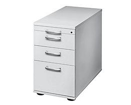 office akktiv ANNY Standcontainer - 1 Utensilienschub, 2 Materialschübe, 1 Registratur - lichtgrau