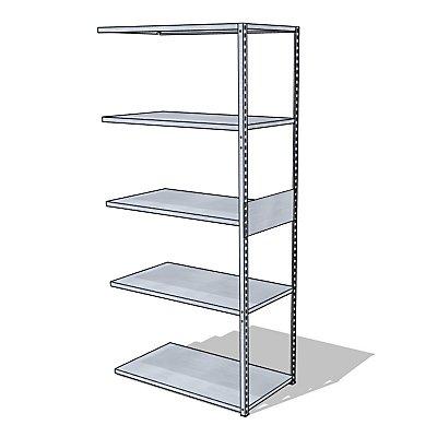 steelo Universal-Steckregal - Breite x Tiefe 930 x 500 mm