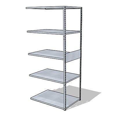 steelo Universal-Steckregal - Breite x Tiefe 930 x 600 mm