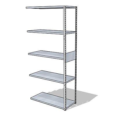 steelo Universal-Steckregal - Breite x Tiefe 930 x 400 mm
