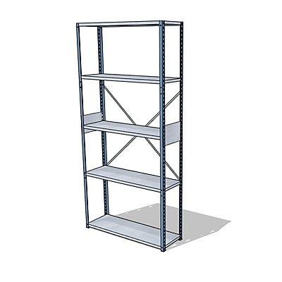 steelo Universal-Steckregal - Breite x Tiefe 930 x 300 mm