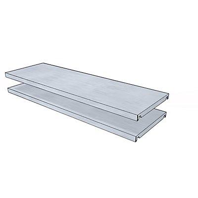 steelo Fachboden für Universal-Steckregal - BxT 930 x 300 mm - VE 2 Stk