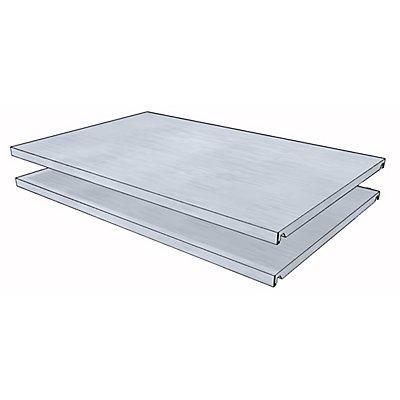 Fachboden für Universal-Steckregal - BxT 930 x 600 mm - VE 2 Stk