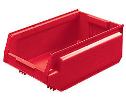 Sichtlagerkasten aus Polypropylen - LxBxH 500 x 310 x 200 mm, VE 8 Stück