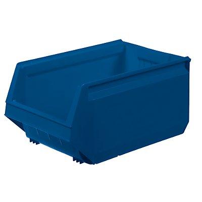 Sichtlagerkasten aus Polypropylen - LxBxH 500 x 310 x 250 mm, VE 8 Stück