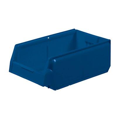 Sichtlagerkasten aus Polypropylen - LxBxH 400 x 230 x 150 mm, VE 8 Stück