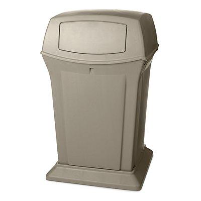 Rubbermaid Abfallbehälter aus PE - 170 l Inhalt und feuerhemmend
