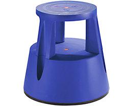 Twinco Rollhocker aus bruchsicherem Kunststoff - Tragfähigkeit 150 kg - blau, ab 10 Stk