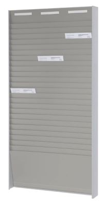 Kartensortiertafel, für DIN A4 - Höhe 1350 mm