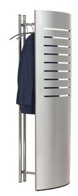 Garderobe mit Sichtschutz - inkl. 5 Kleiderbügeln