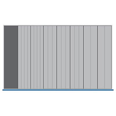 Schubladeneinteilungsset - Kompaktmulde mit Steckwänden