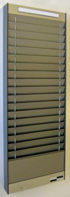 Dokumentensortiertafel - 1 x 18 Fächer, DIN A5, Dokumentenlage horizontal