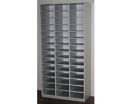 office akktiv Rayonnage de tri, modèle large - h x l x p 1864 x 913 x 420 mm, 42 casiers format A4