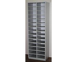 office akktiv Rayonnage de tri, modèle étroit - h x l x p 1864 x 615 x 420 mm, 28 casiers format A4