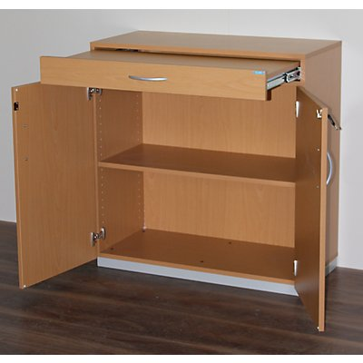 OFFICE AKKTIV Geräteschrank mit Sortiertisch - HxBxT 942 x 913 x 440 mm, abschließbar