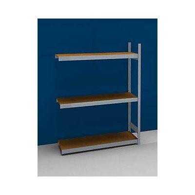 hofe Großfach-Steckregal mit Spanplatten - Höhe 2000 mm, Breite 1500 mm, Feldlast 1200 kg