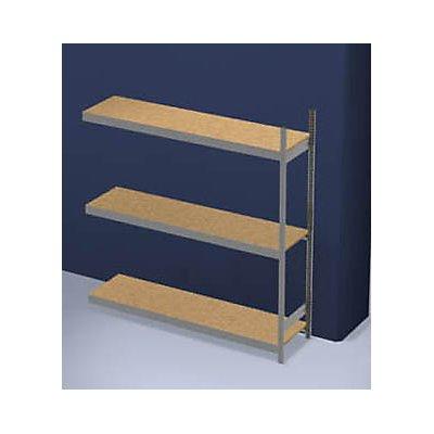 hofe Großfach-Steckregal mit Spanplatten - Höhe 2000 mm, Breite 2000 mm, Feldlast 1200 kg