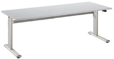 UPLINER Stehschreibtisch, elektrisch höhenverstellbar - 725 – 1185 mm, BxT 1800 x 800 mm