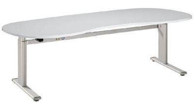 UPLINER Stehschreibtisch, elektrisch höhenverstellbar - 655 – 1300 mm, BxT 2000 x 1000 mm