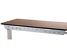 Passage de câbles horizontal - pour bureau UPLINER - largeur 1200 mm
