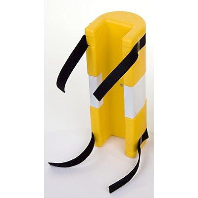 Pfostenschutz - aus Polyethylen, gelb