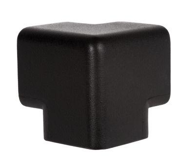 Warn- und Schutzprofil, Schutzecke - in 3D, Querschnitt L-Form groß