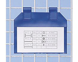 Einstecktaschen magnetisch, VE 50 Stk - für Papierformat DIN A6 - Sichtfläche HxB 170 x 215 mm