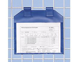 Einstecktaschen magnetisch, VE 50 Stk - für Papierformat DIN A5 - Sichtfläche HxB 215 x 235 mm