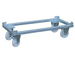 BAUER Transportwagen - feuerverzinkt, für 0,5 m³