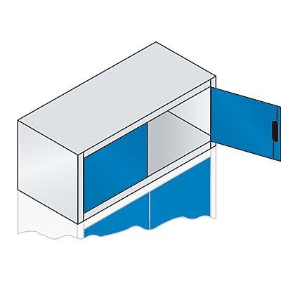 CP Aufsatzschrank mit Flügeltüren - HxBxT 500 x 1200 x 500 mm