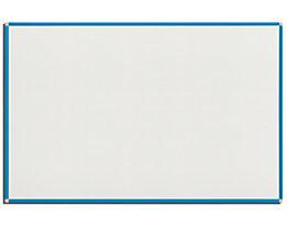 QUIPO Weißwandtafel - Rahmen lichtblau - BxH 1500 x 1000 mm