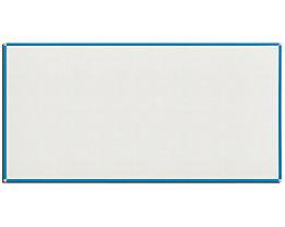 QUIPO Weißwandtafel - Rahmen lichtblau - BxH 2000 x 1000 mm