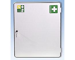 Verbandschrank nach DIN 13169 - eintürig, weiß, HxBxT 552 x 452 x 170 mm